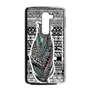 Feather YT013697 Phone Back Case Customized Art Print Design Hard Shell Protection LG G2