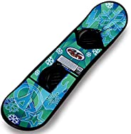 Paricon Avenger Snowboard, Black with Graphic