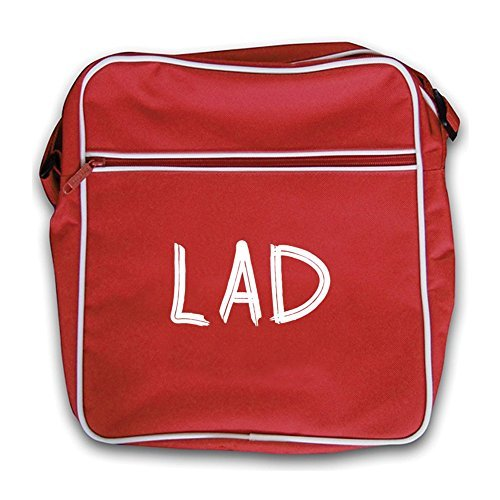 Retro Flight Dressdown Lad Red Bag 0znTFn