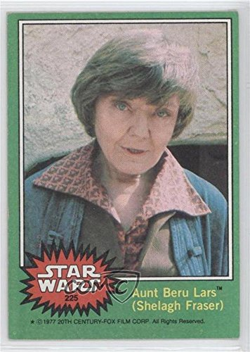 Aunt Beru Lars (Shelagh Fraser) (Trading Liable act) 1977 Topps Star Wars - [Base] #225