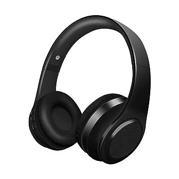 Alitoo Auriculares Inalámbricos Bluetooth con Micrófono, Cancelación de Ruido Auriculares Plegables Sobre el oído, portátiles compatibles con Smartphone, ...