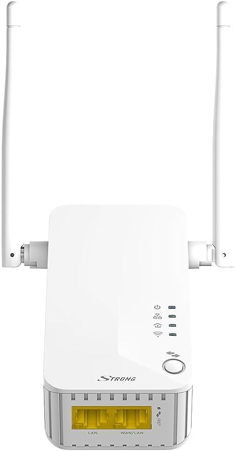 Strong Powerlwf500duofr Set Adapter Cpl Wifi Weiß Computer Zubehör