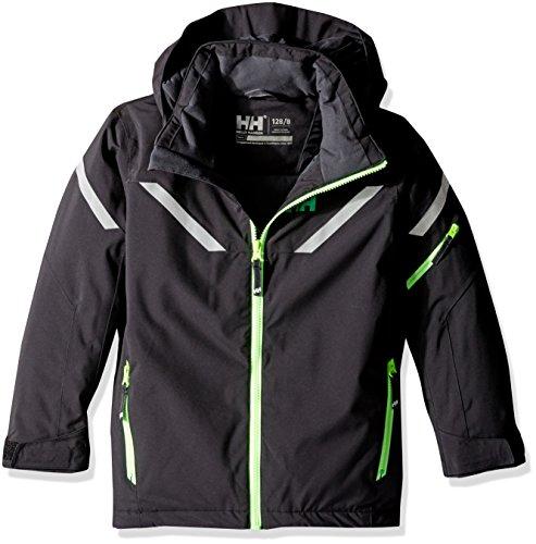 Helly Hansen Junior Kids ROC Jacket, Black, Size 8