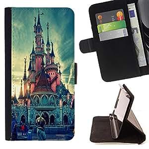 King Case - FOR Samsung Galaxy S3 III I9300 - Can't figure it out - Prima caja de la PU billetera de cuero con ranuras para tarjetas, efectivo Compartimiento desmontable y correa para la mu?eca