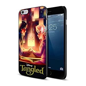 disney tangled rapunzel and flynn rider For iPhone 6 Plus/6s Plus Black Case