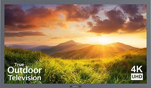 SunBriteTV Outdoor 55-Inch Signature 4K Ultra HD LED TV - SB-S-55-4K-SL Silver