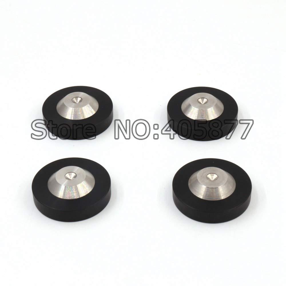 Laliva Plugs - 8 pcs Speaker AMP DAC CD Spike Base Pad Isolation Feet Improve Sound 39X12mm - (Standard: Spike Base)
