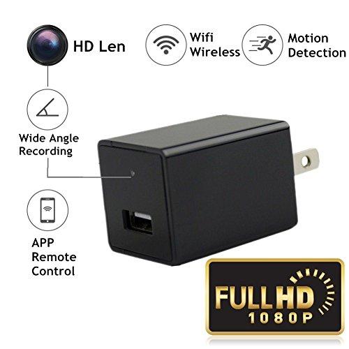 FSTCOM 720P HD USB Adapter Wifi Spy Hidden Camera Wireless W