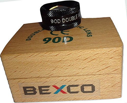 90D Double Aspheric Lens Optometry in Wooden Box Best Quality Original Item of Brand BEXCO