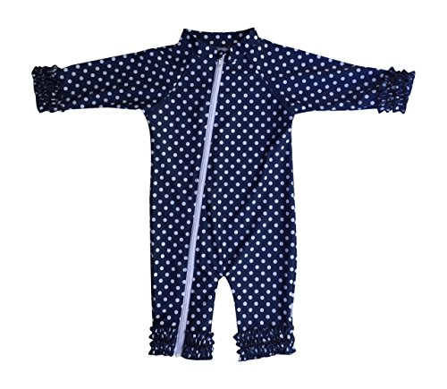 SwimZip UPF 50 Multiple Colors Girls Long Sleeve Sunsuit