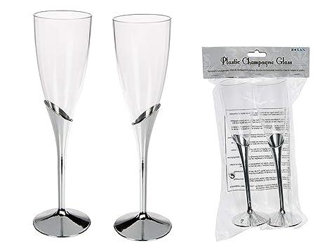 OOTB Copas de champán (2 unidades, plástico