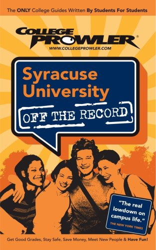 Syracuse University: Off the Record - College Prowler