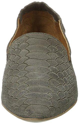 Bianco Temperamatite Mocassino 25-49305 Verde Pantofola (verde Militare)