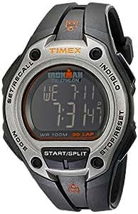 Timex Men's T5K758 Ironman Classic 30 Oversized Black/Silver-Tone Resin Strap Watch