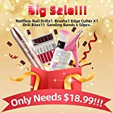 RedFlow Electric Nail Drill Acrylic Nail kit set