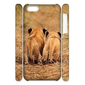 Custom New Case for Iphone 5C 3D, Let's Run Away Phone Case - HL-713539