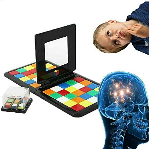 YunZyun Magic Block Game 2019 Game of Brains Kids & Adults Rubiks Cube Education Toy for Kids and Adult (Multi) (Best 4x4 Rubik's Cube 2019)