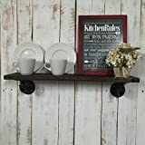 Industrial Kitchen Shelf, Kitchen Shelf, Rustic Kitchen Shelves