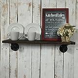 Industrial Kitchen Shelf, Kitchen Shelf, Rustic Kitchen Shelves