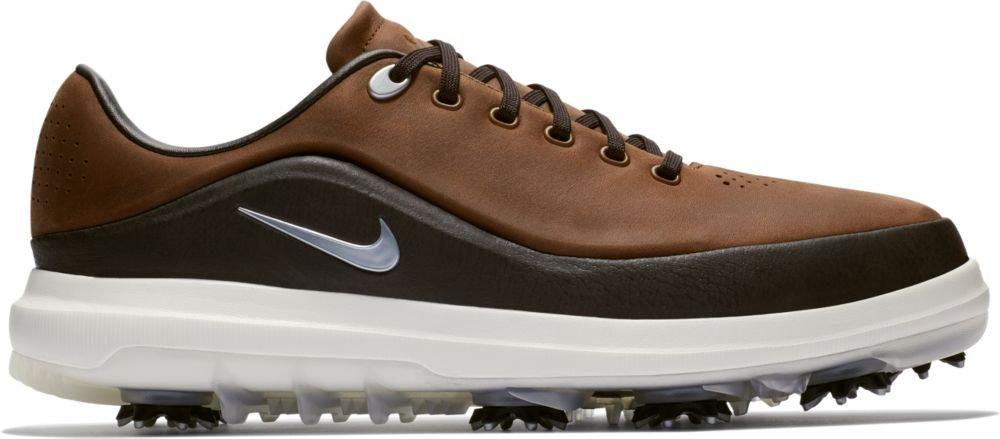Nike Golf Air Zoom Precision Shoes B0764HM7L1 12 D(M) US|Light British Tan/Metallic Platinum-beach