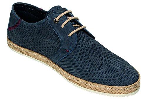 Lacets À Bleu Chaussures Ville Homme Pour Klondike De Tf7pwAwq