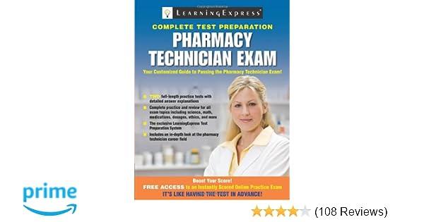 Pharmacy technician exam 8580001062594 medicine health science pharmacy technician exam 8580001062594 medicine health science books amazon fandeluxe Gallery