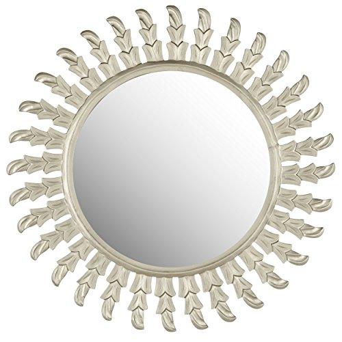 Safavieh Home Collection Inca Sun Mirror, Pewter by Safavieh