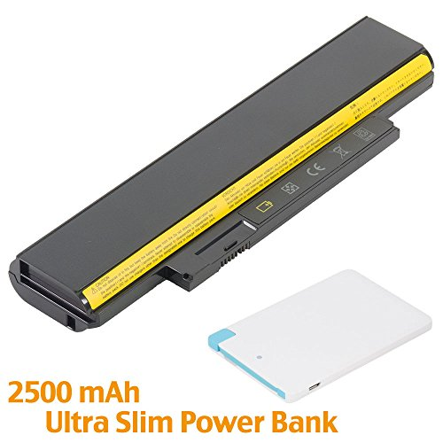 BattpitTM Laptop/Notebook Battery Replacement for Lenovo ThinkPad X131e 3372-3MU (4400 mAh / 49Wh) with 2500mAh Power Bank/External Battery for Micro USB & USB Type C.