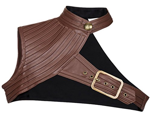 Sexy Mechanic Halloween Costumes - Alivila.Y Fashion Women's Steampunk Retro Leather