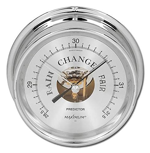 Maximum Predictor Chrome Barometer (7001-8000 ft.)