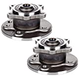 Scitoo Both(2) 512304 Rear Wheel Hub Bearing Assembly fit 2002-2009 Mini Cooper 4 Lugs
