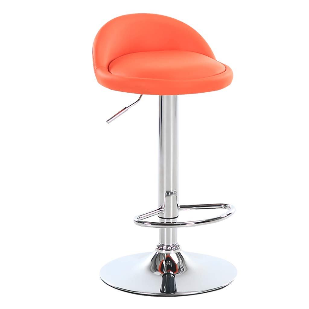 A5 Bar Stool redatable and Height Adjustable - color Choice, PU, seat with backrest PU seat with backrest (color   A10)