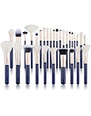 Jessup Brush Set Make up Brushes Powder Brush Face Lip Make-up Brush Professional Beauty Brush Tools&Kits 30 Pcs Prussian Blue T470