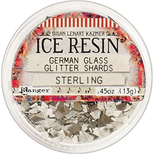 ICE Resin® Sterling Glass Glitter Shards,