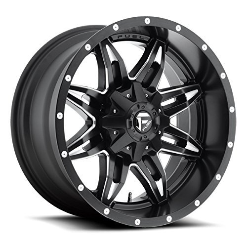 Fuel Lethal 20 Black Wheel / Rim 8x6.5 with a -12mm Offset and a 125.2 Hub Bore. Partnumber D56720008250
