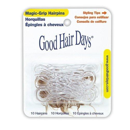 (Magic-Grip Hairpins, Color Crystal by Good Hair Days )