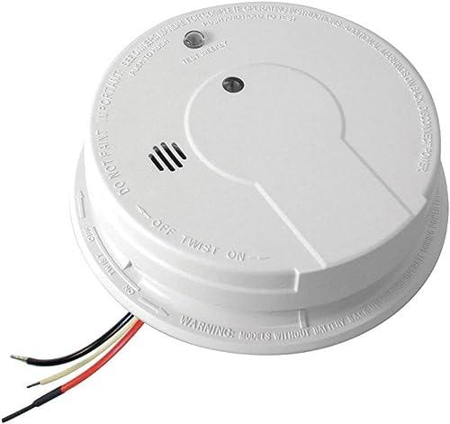 Kidde I12040 AC Hardwired Interconnect Smoke Alarm with Hush – 8 pack