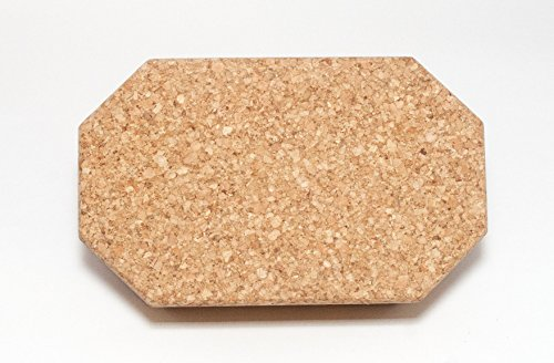 Cork Yoga Block with Angled Corners