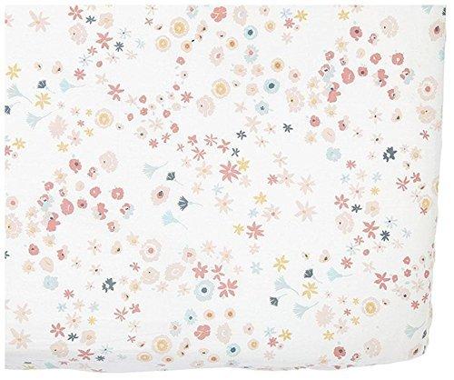 200 Thread Count,100/% Cotton,52 x 28 x 8 Pink Pehr Designs Meadow Crib Sheet