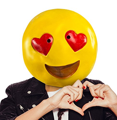 BigMouth Inc Heart Eyes Mask