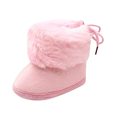 Stiefel Babyschuhe Kleinkind Neugeborenen Baby Mädchen Stiefel Schuhe Infant Baby Winter Warme Weiche Sohle Prewalker Turnschuhe