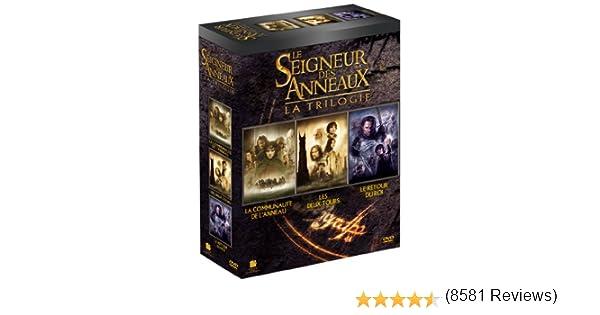 La Trilogie Le Seigneur des Anneaux - Tirage limité Francia DVD ...