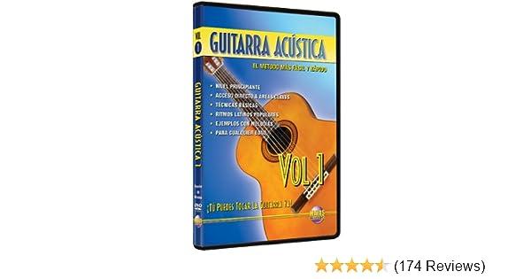 Amazon.com: Guitarra Acústica, Vol 1: ¡Tú Puedes Tocar La Guitarra Ya! (Spanish Language Edition) (DVD): Rogelio Maya: Movies & TV