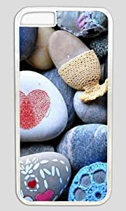 Unique Design of The Stone DIY Hard Shell Transparent Designed For iphone 6 Plus Case