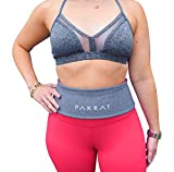 PakRat Running Belt Waist Pack – Runners Fold Over Belt, Fanny Pack for Jogging, Exercise or Travel, Holds Phone, Money, Keys – Now Customizable (Gray, X-Small) Review