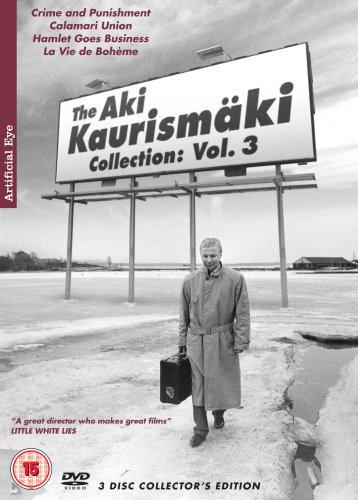 Aki Kaurismäki Collection: Vol. 3 - 3-DVD Box Set ( Rikos ja rangaistus / Calamari Union / Hamlet liikemaailmassa / La vie de bohème ) ( Crime and Punishment (Crime & Punishment) / [ NON-USA FORMAT, PAL, Reg.2 Import - United Kingdom ] - Three Films By Louis Malle
