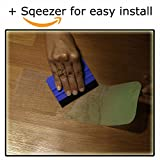 """StepStrips StepTips Anti Slip Tape """"Stair Treads"""" 15 pack 4"""" X 24"""" Clear & Glow in the Dark for Safety Non Slip Grip Skid Strips Traction Non Abrasive PVC FREE for Bare Feet Kids, Elders & Dogs"""