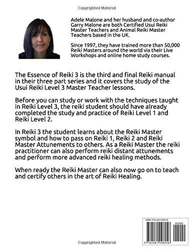 The Essence Of Reiki 3 Usui Reiki Level 3 Master Teacher Manual