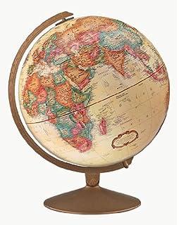 Replogle Globes Franklin Globe, Antique Ocean, 12 Inch Diameter