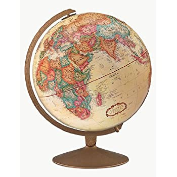 replogle globes franklin globe antique ocean 12 inch diameter replogle globes. Black Bedroom Furniture Sets. Home Design Ideas